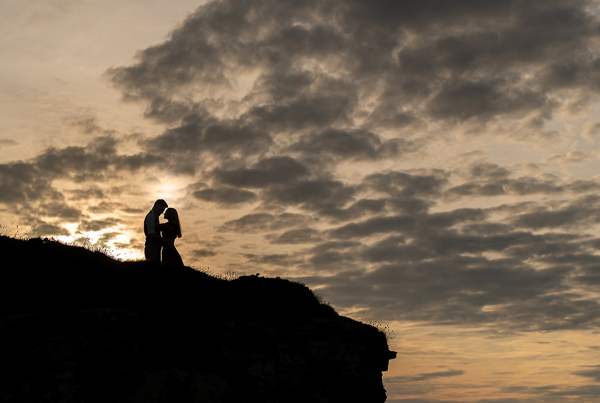 Engagement photography shoot at the Cliffs of Moher with Gerard Conneely Photography photo