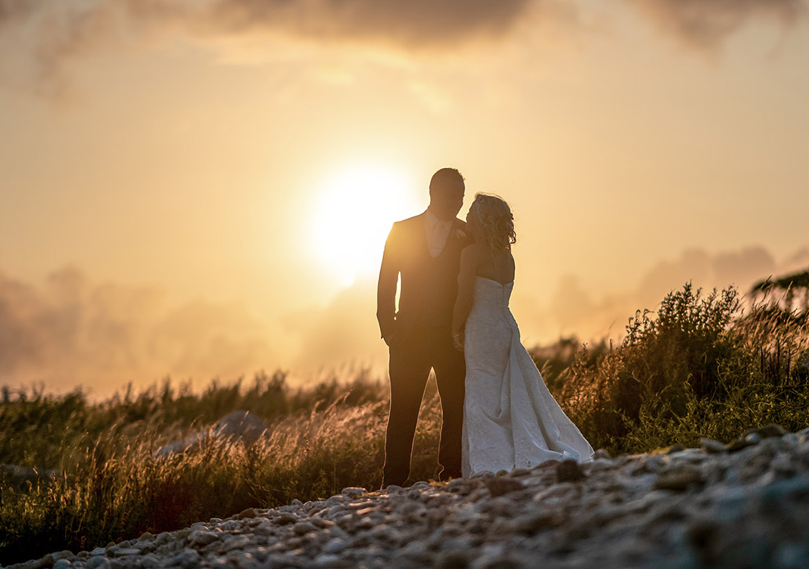 connemara coast wedding photography sunset