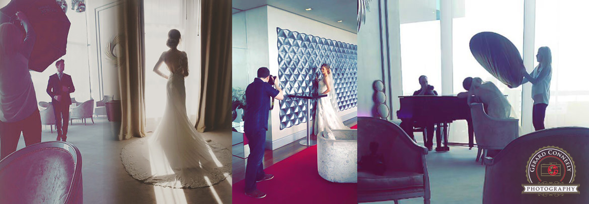 wedding photography g hotel galway behind scenes