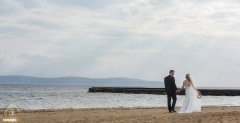 Salthill Beach Wedding Photography by Gerard Conneely Photography