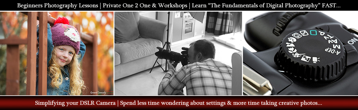 Photography Courses and workshops Ireland Header