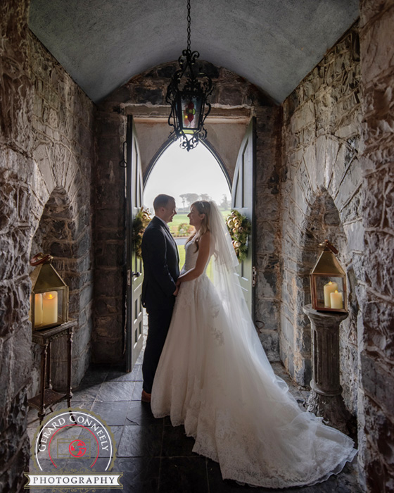 wedding photography at the glenlo abbey hotel in galway by gerard conneely photography photo